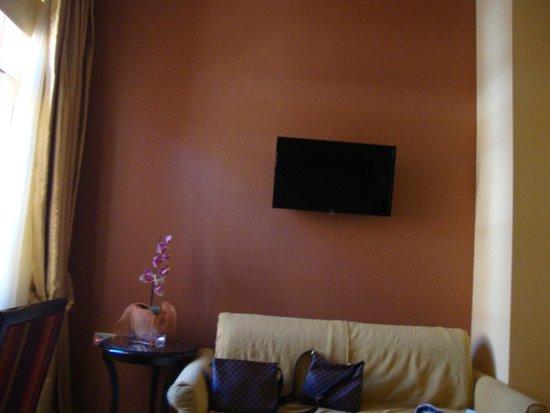 Aetoma Hotel : chambre