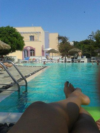 Acqua Vatos Santorini Hotel: piscina!
