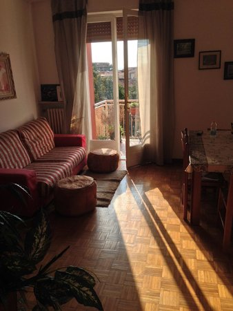 Ariel Bed & Breakfast : Living/breakfast room