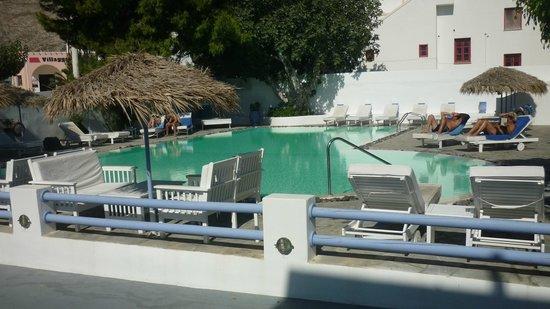 Acqua Vatos Santorini Hotel: piscina