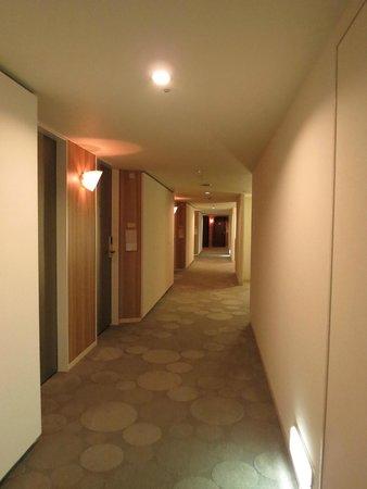 Grand Prince Hotel Hiroshima: Hallway