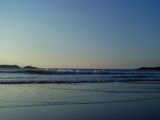 Illa Pancha: Playa de Arnao