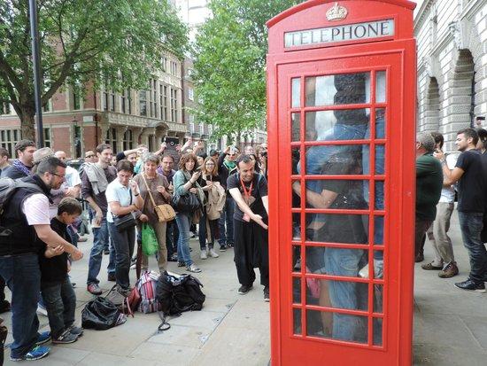SANDEMANs NEW Europe - London: Partiéndonos de risa, en la visita