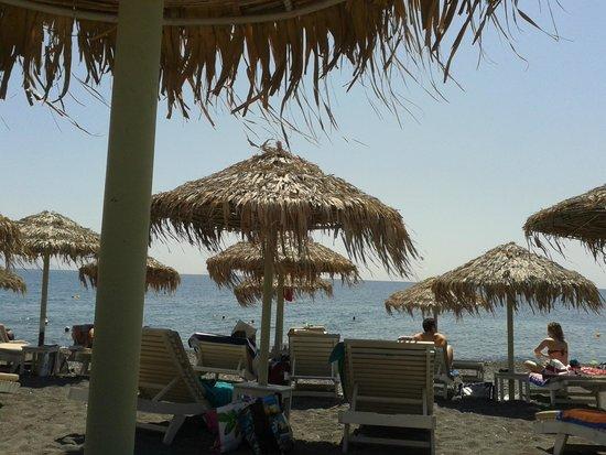 Kamari Beach: spiaggia