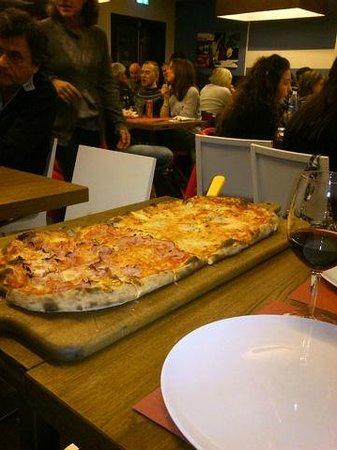Great pizza in Pizzeria Bella Napoli!