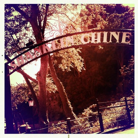 Shanklin Chine entrance