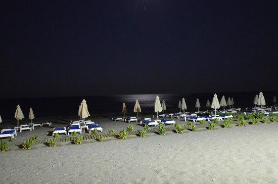 Rodos Palladium : la spiaggia dell'hotel