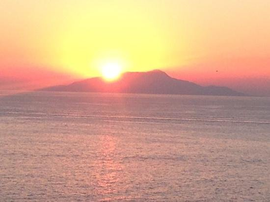 Hotel Delfino: Capri from our room