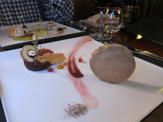 Bistronomie Desobeissance : Foie gras (entrée)