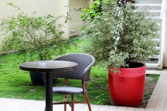 New Hotel Saint Lazare : Jardin