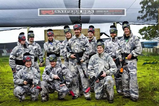 Snipers Den Paintball