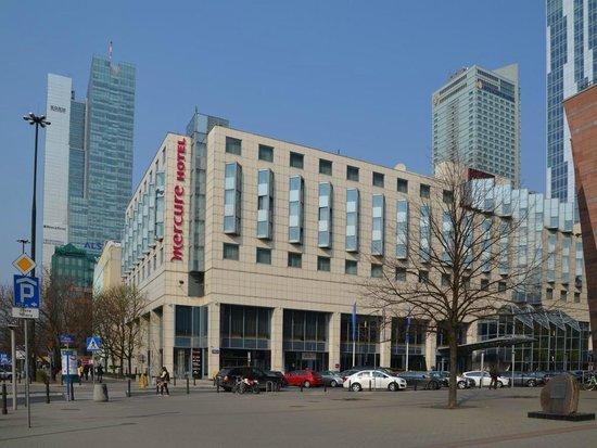 Mercure Warszawa Centrum: Außenansicht