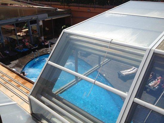 Rosamar & Spa: Piscina con acqua di mare