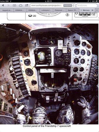 Kennedy Space Center Visitor Complex: Friendship 7 / command module/ Program Mercury