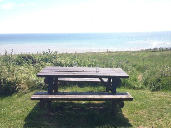 Newhaven, UK: Vue de la terrasse _ DV