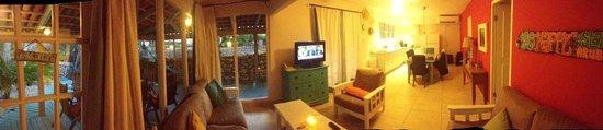 Boardwalk Hotel Aruba: Main living area of Casita 8