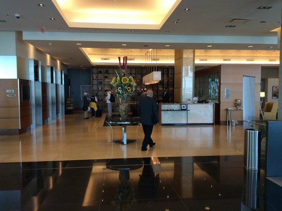Montreal Airport Marriott In-Terminal Hotel : l'accueil