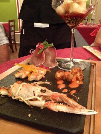 La Taverna Babale: Creazione di pesce dello chef!