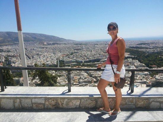 Mount Lycabettus : top of lycabettus hill