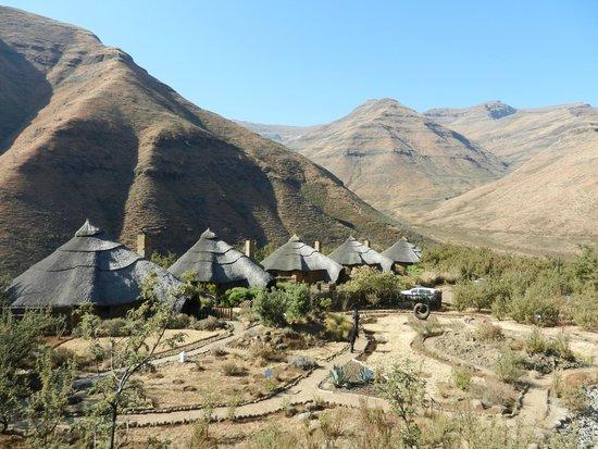 Maliba Mountain Lodge: Anordnung der Chalets