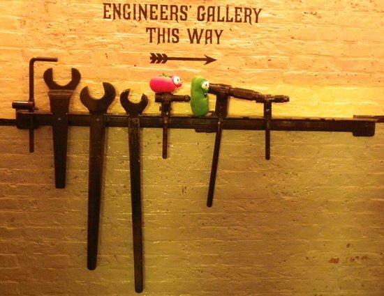 Tower Bridge: Fun in the Engine Room