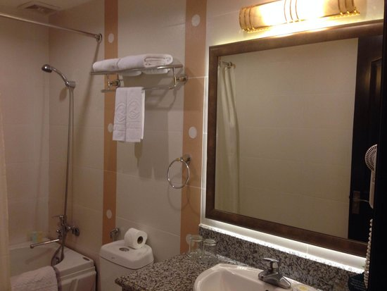 Silverland Central Hotel and Spa: Deluxe bathroom