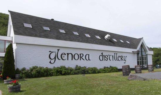 Glenora Inn & Distillery: main building
