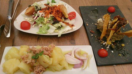 Almiranta tapas-Restaurante : Presentación y sabor muy buenos!!
