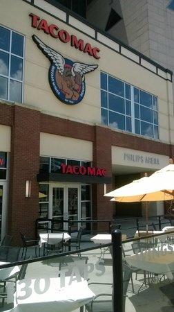 Taco Mac - Philips Arena: Patio dining