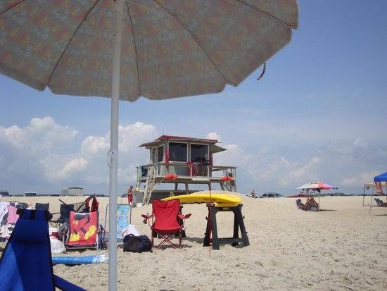 Assateague Beach : Main life guard station