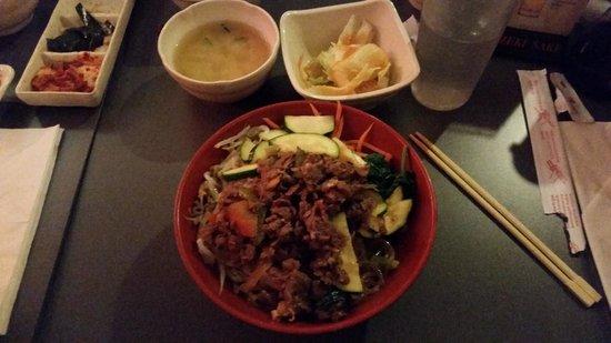 HoSu Bistro: Beef Bibimbap