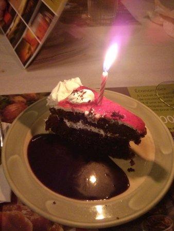 mon gâteau de fête!
