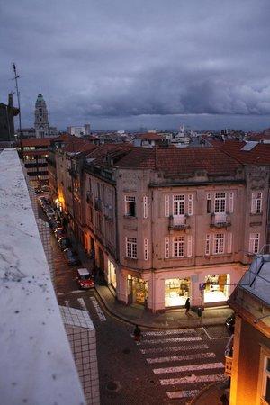Malaposta: Vista desde la terraza de la habitación.