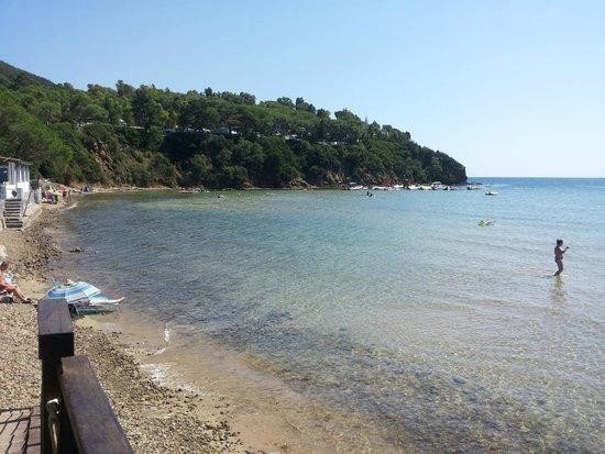 Camping Lacona Pineta: Spiaggia di Lacona