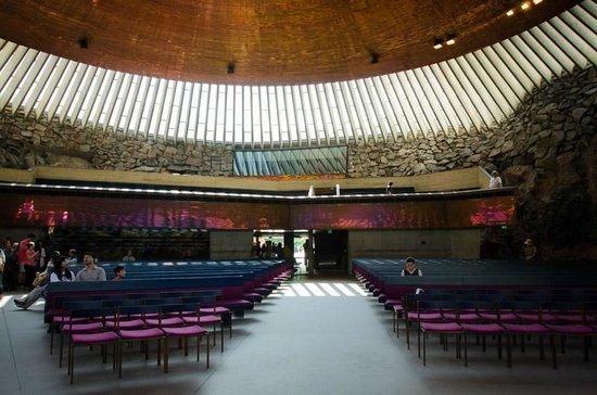 Temppeliaukio-Kirche: Interior