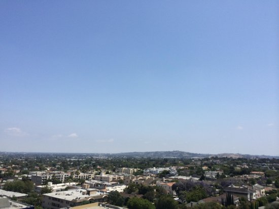 Mr. C Beverly Hills: The view from the balcony
