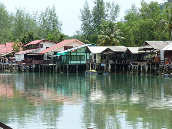 Baan Rim Nam: vue de la terrasse