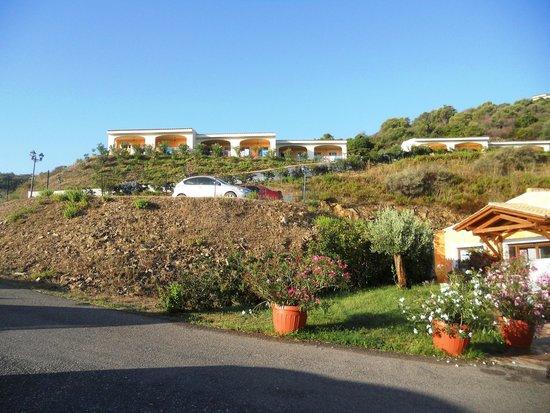 Hotel Pedra Ruja: panoramica collocazione appartamenti