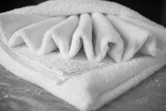 The Maydor : Origami on the towels