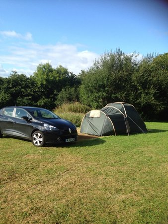 Holmans Wood Holiday Park: Our little home!