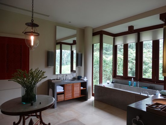 Alila Ubud: terrace tree villa bathroom