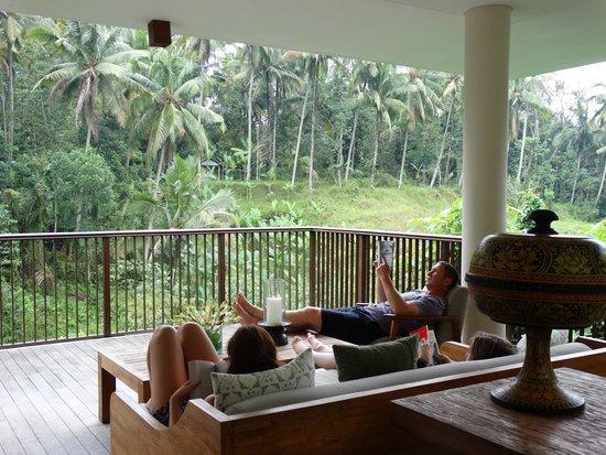 Alila Ubud : terrace tree villa deck (part of it)
