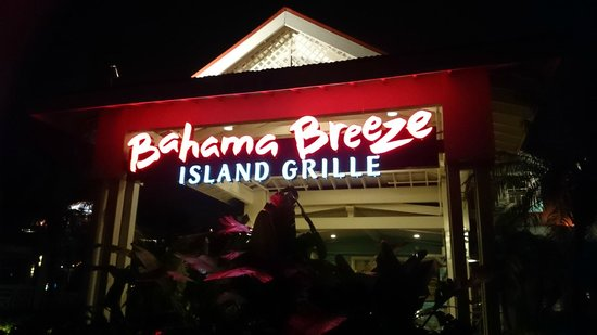 Bahama Breeze: Let's try it