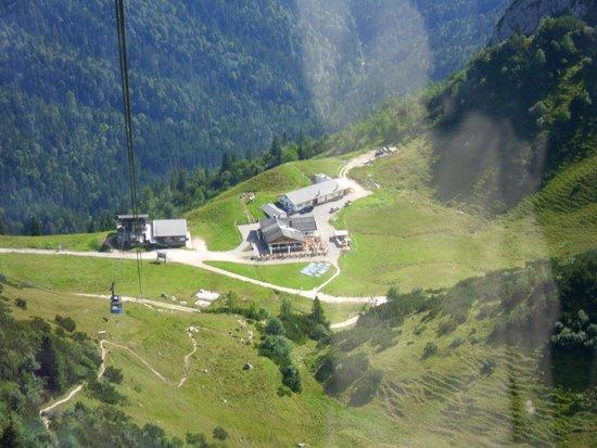Alpspitz : Blick ins Tal