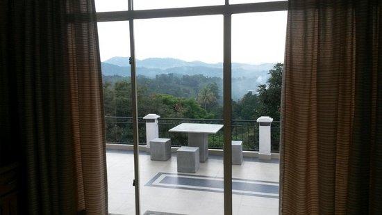 Elegant Hotel: Ausblick vom Zimmer
