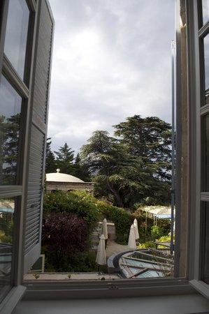 Le Clair de la Plume : View from our room