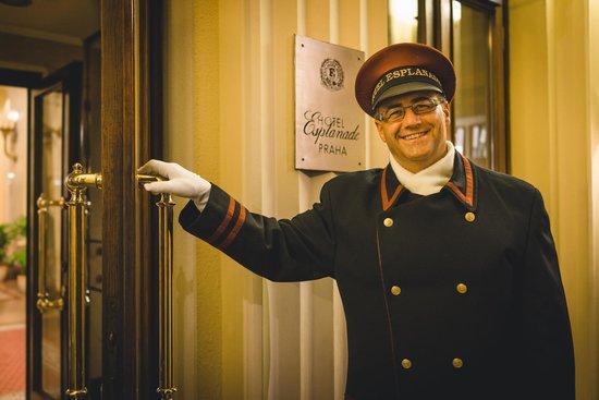 Hotel Esplanade Prague: Entrans