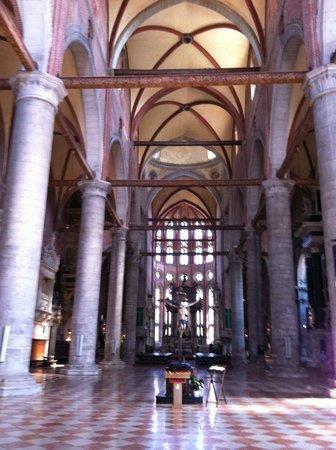 Basilica dei Santi Giovanni e Paolo (San Zanipolo): Interno dei Santi Giovanni e Paolo