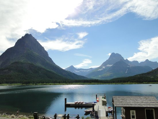 Many Glacier Hotel: View from our room