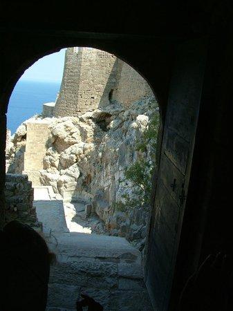 Lindos : Линдос - крепость